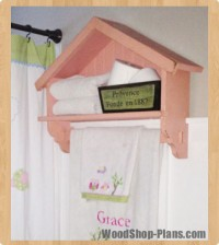 bird house bath shelf woodworking plans