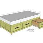 daybed with storage woodworking plans 2