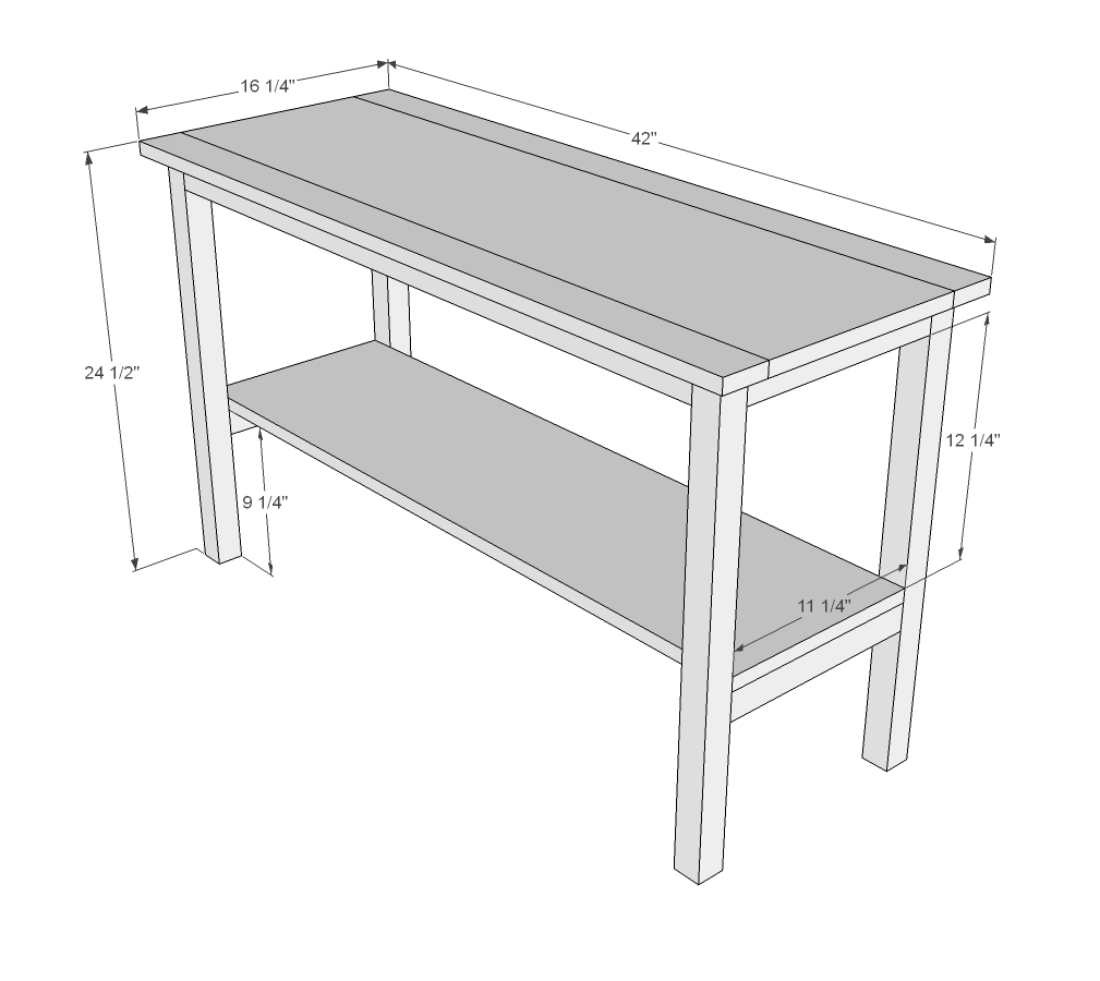 End Table Woodworking Plans WoodShop
