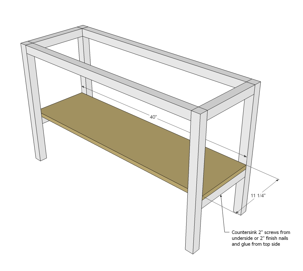 23 popular woodworking end table plans for Side table plans