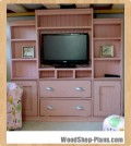 entertainment center woodworking plans