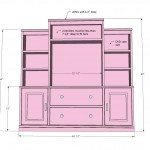entertainment center woodworking plans 2