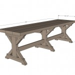 farmhouse bench woodworking plans 2