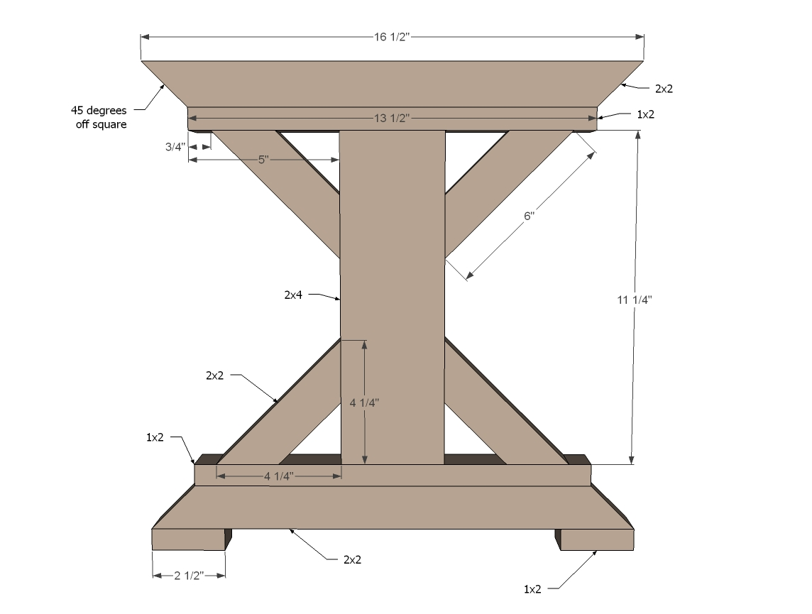 woodworking bench legs
