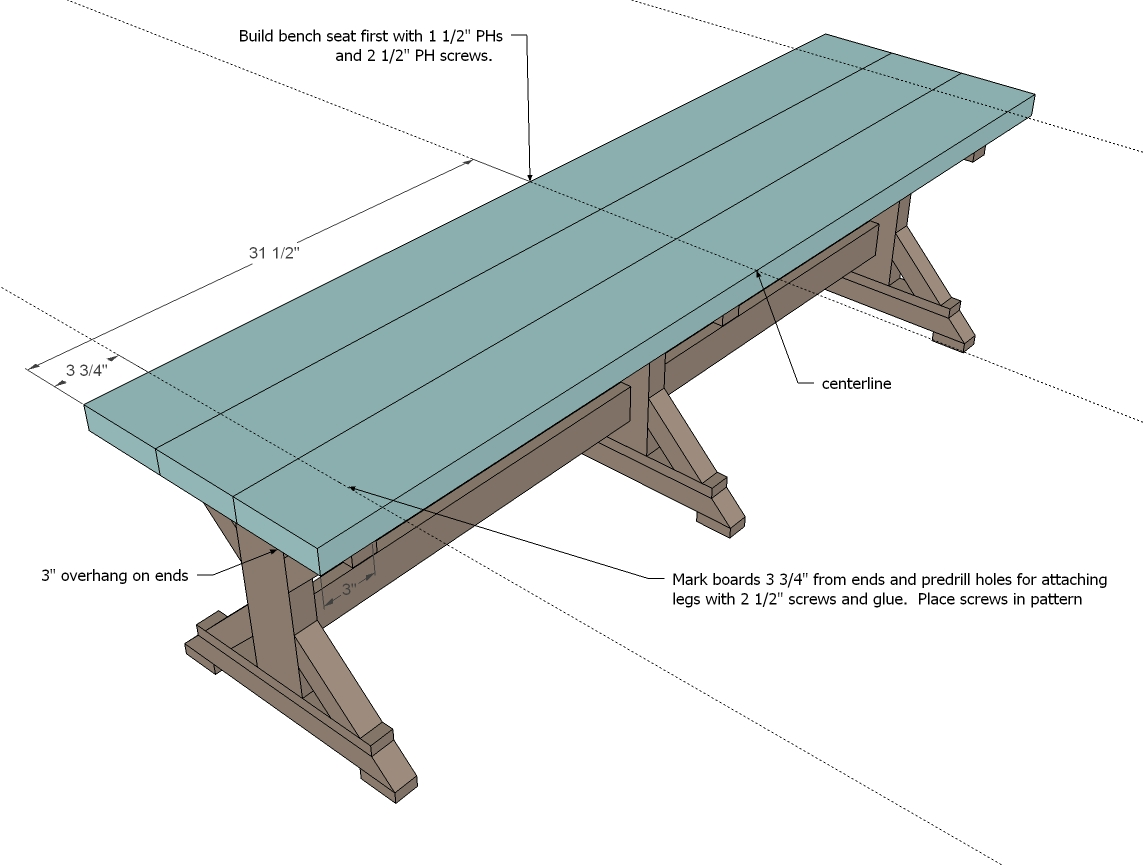 Farmhouse bench woodworking plans woodshop plans - Farmhouse Bench Woodworking Plans 2 Step 1 Step 1 Step 2 Step 2 Step 3
