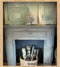 faux mantle woodworking plans