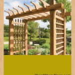 garden gateway pergola woodworking plans