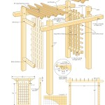 garden gateway pergola woodworking plans 5