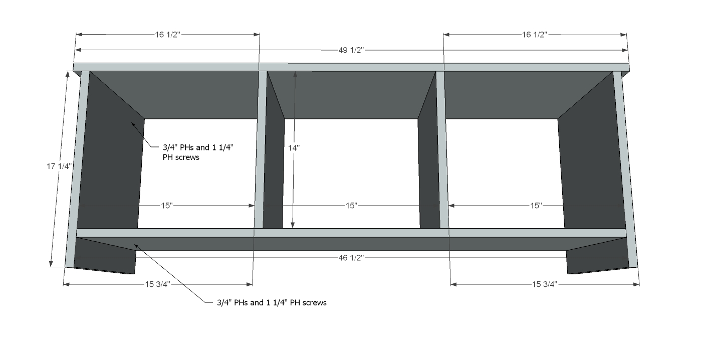 hall tree bench plans