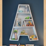 kids letter shelf woodworking plans