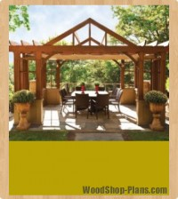 pergola woodworking plans