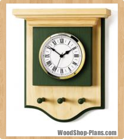 pine clock woodworking plans - WoodShop Plans
