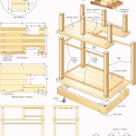 rolling bar woodworking plans 4