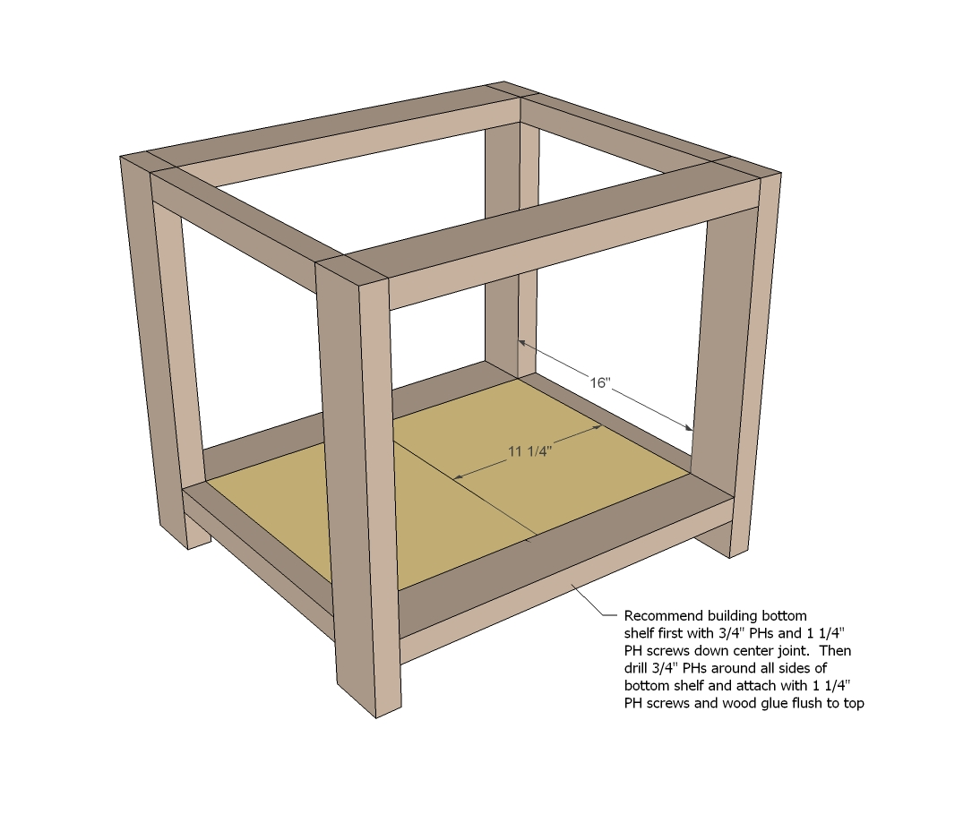 rustic end table woodworking plans WoodShop Plans : rustic end table woodworking plans step 03 from woodshop-plans.com size 1085 x 919 jpeg 205kB