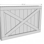 sliding tv cover woodworking plans 2
