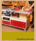 tablesaw and router workstation woodworking plans