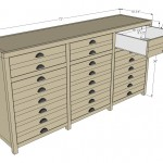 triple console cabinet woodworking plans 2