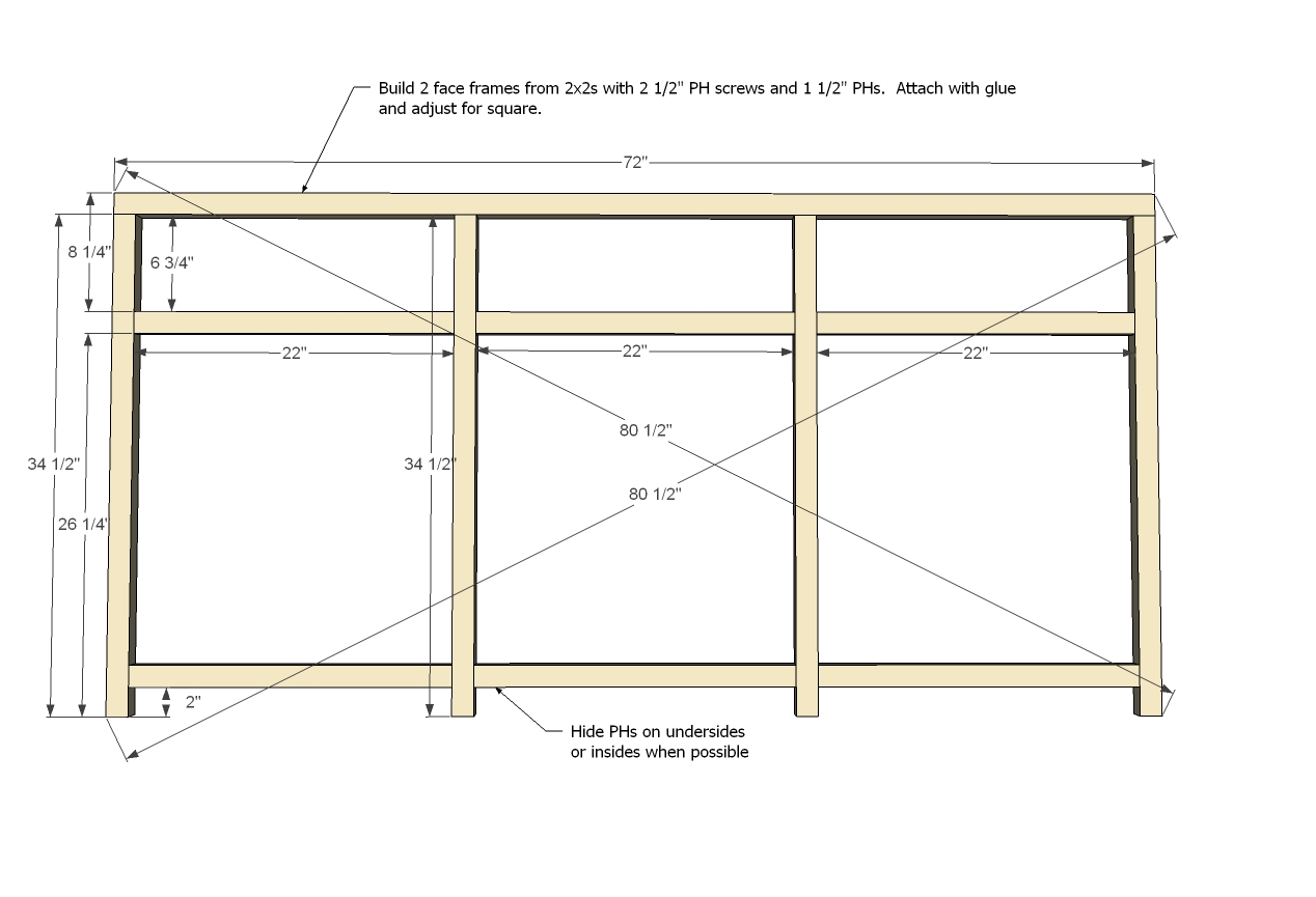 Download cabinet frame plans pdf cabinet building how to Cabinets plans