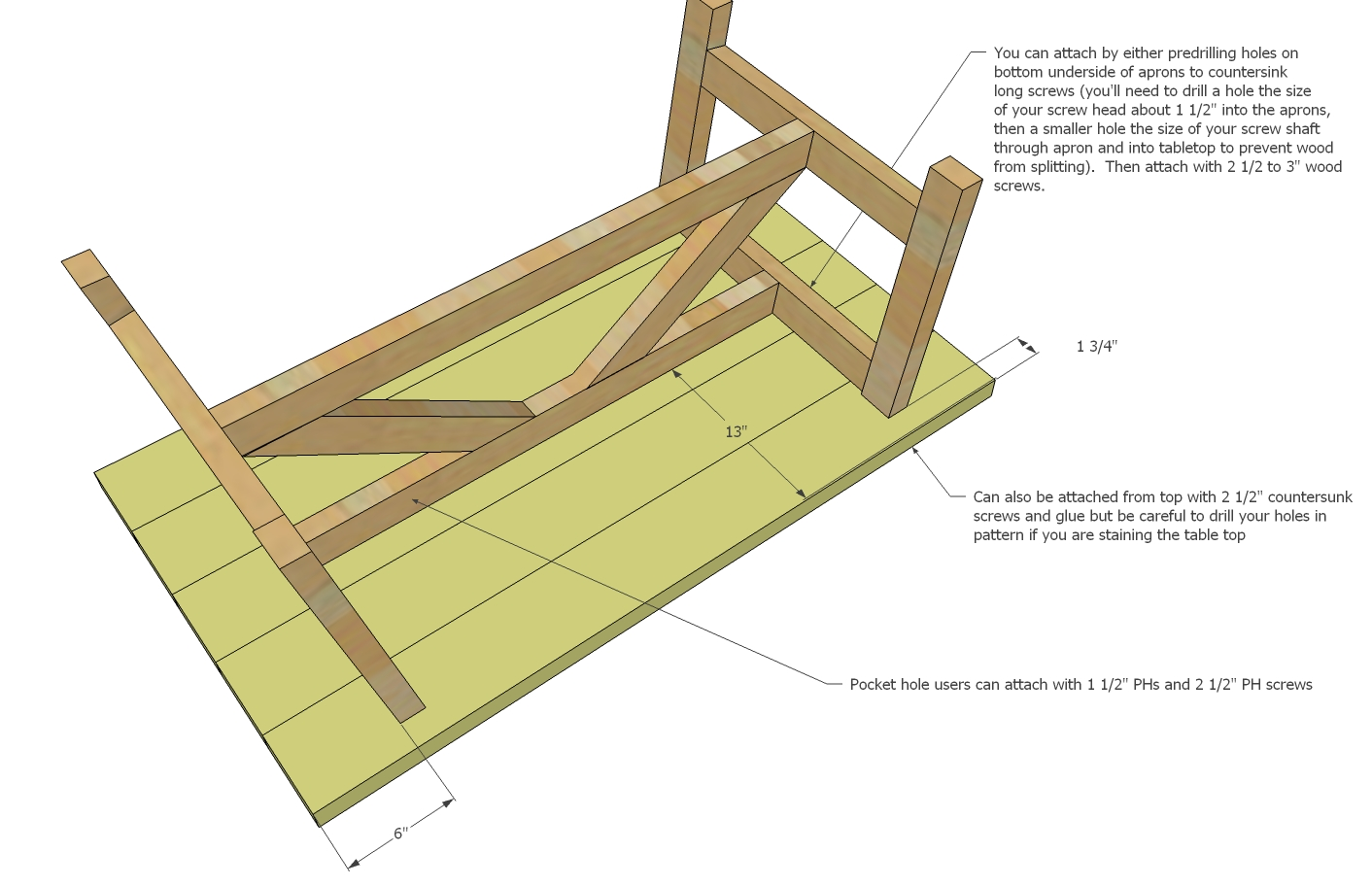 Woodworking plans for tables diy woodworking projects for Table woodworking plans