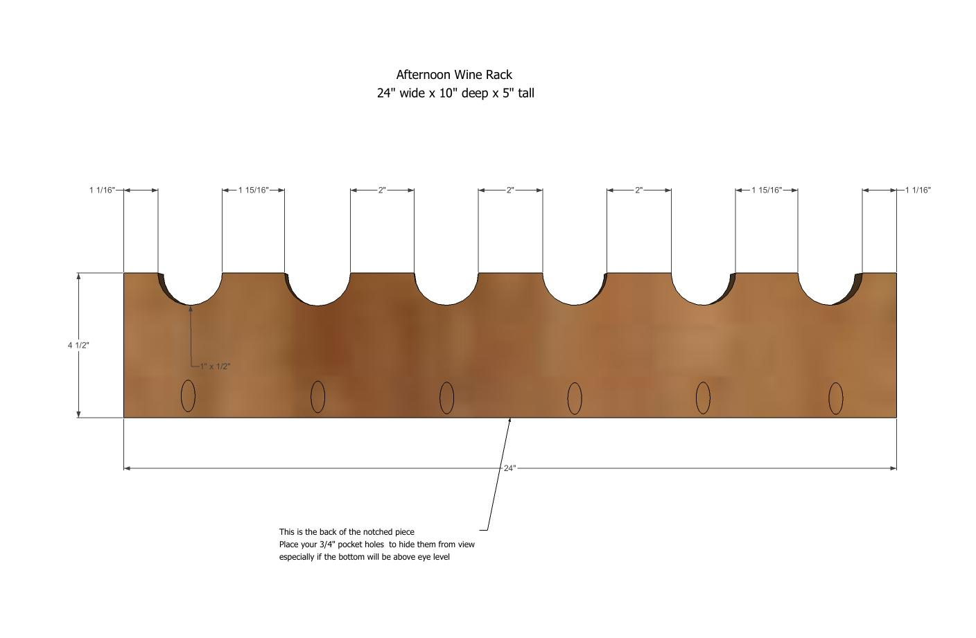 Build Your Own Wine Rack Plans Pdf Woodworking