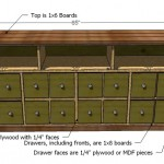 apothecary console woodworking plans 2