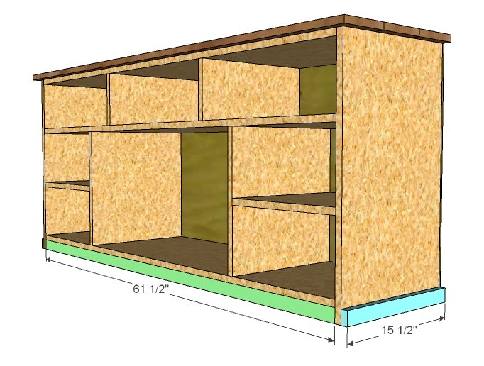 Apothecary Media Cabinet Plans