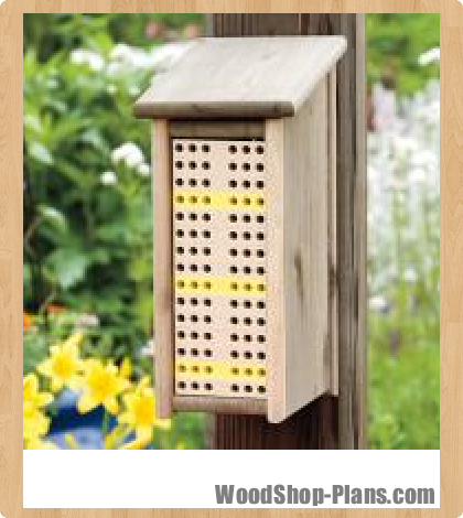 bee box woodworking plans