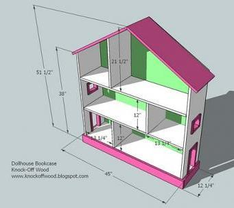 Dollhouse plans woodworking plans