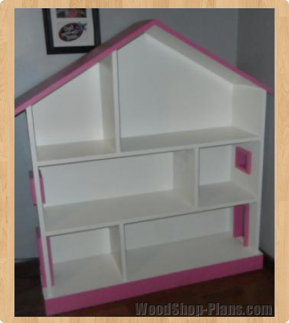 dollhouse bookcase woodworking plans