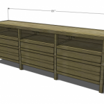 entertainment console woodworking plans 2