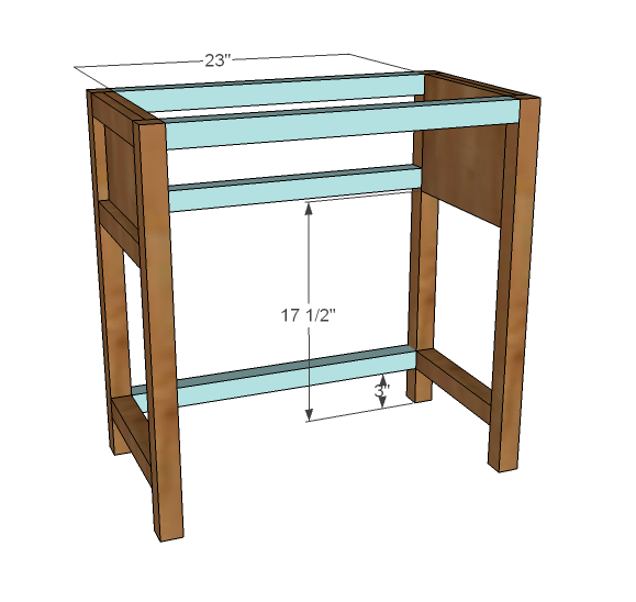 farmhouse bedside table woodworking plans - WoodShop Plans