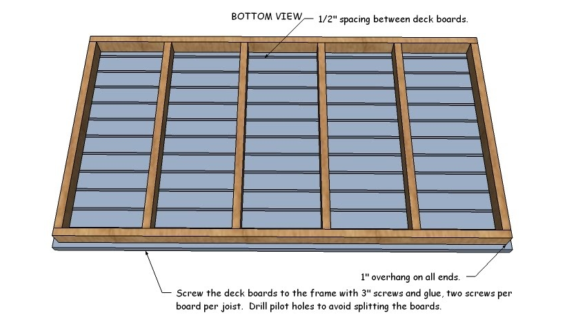 Best wood clamps review hanging daybed plans build for Swinging bed frame