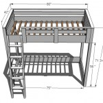 kids loft bed woodworking plans 2