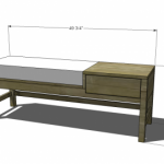 offset bench woodworking plans 2