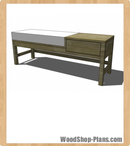 offset bench woodworking plans