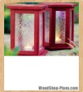 patio lanterns woodworking plans