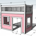 playhouse loft bed woodworking plans 2