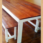 rustic table woodworking plans