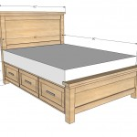 storage bed woodworking plans 2