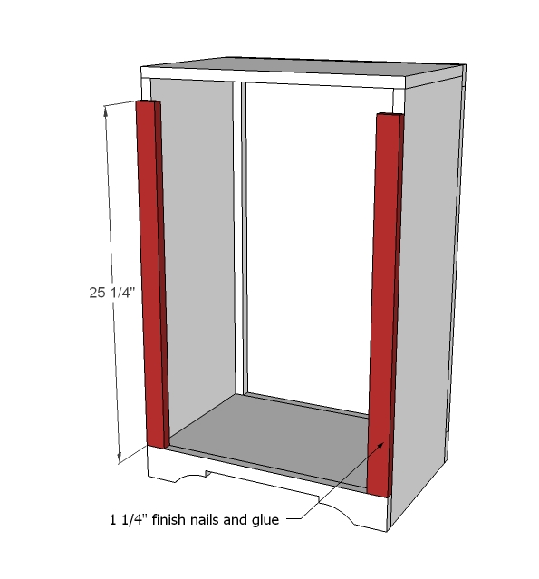 Tilt Out Trash Cabinet Woodworking Plans Woodshop Plans