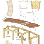 campfire bench woodworking plans 4