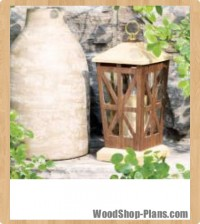 candle lantern woodworking plans
