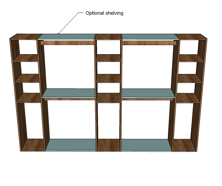 Closet Storage Plans Free