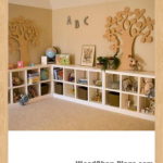 cubby shelves woodworking plans