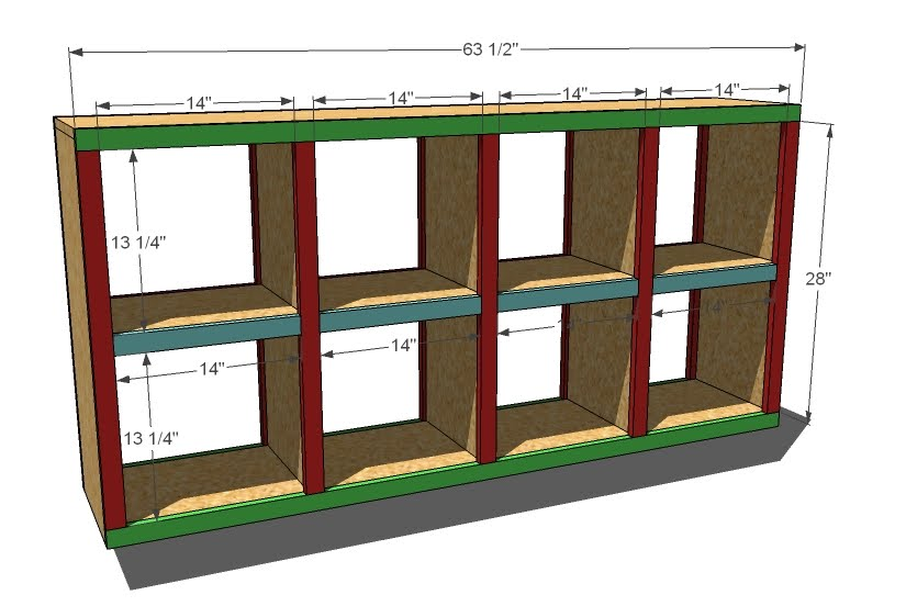 Storage Shelf Wood Plans | www.woodworking.bofusfocus.com