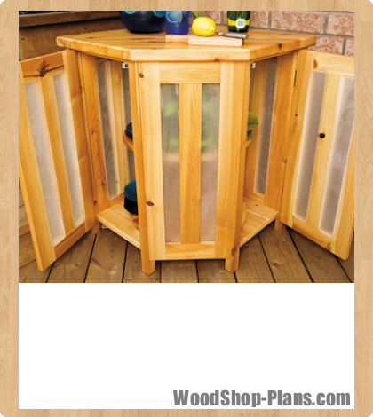 deck island woodworking plans
