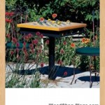 garden games table woodworking plans