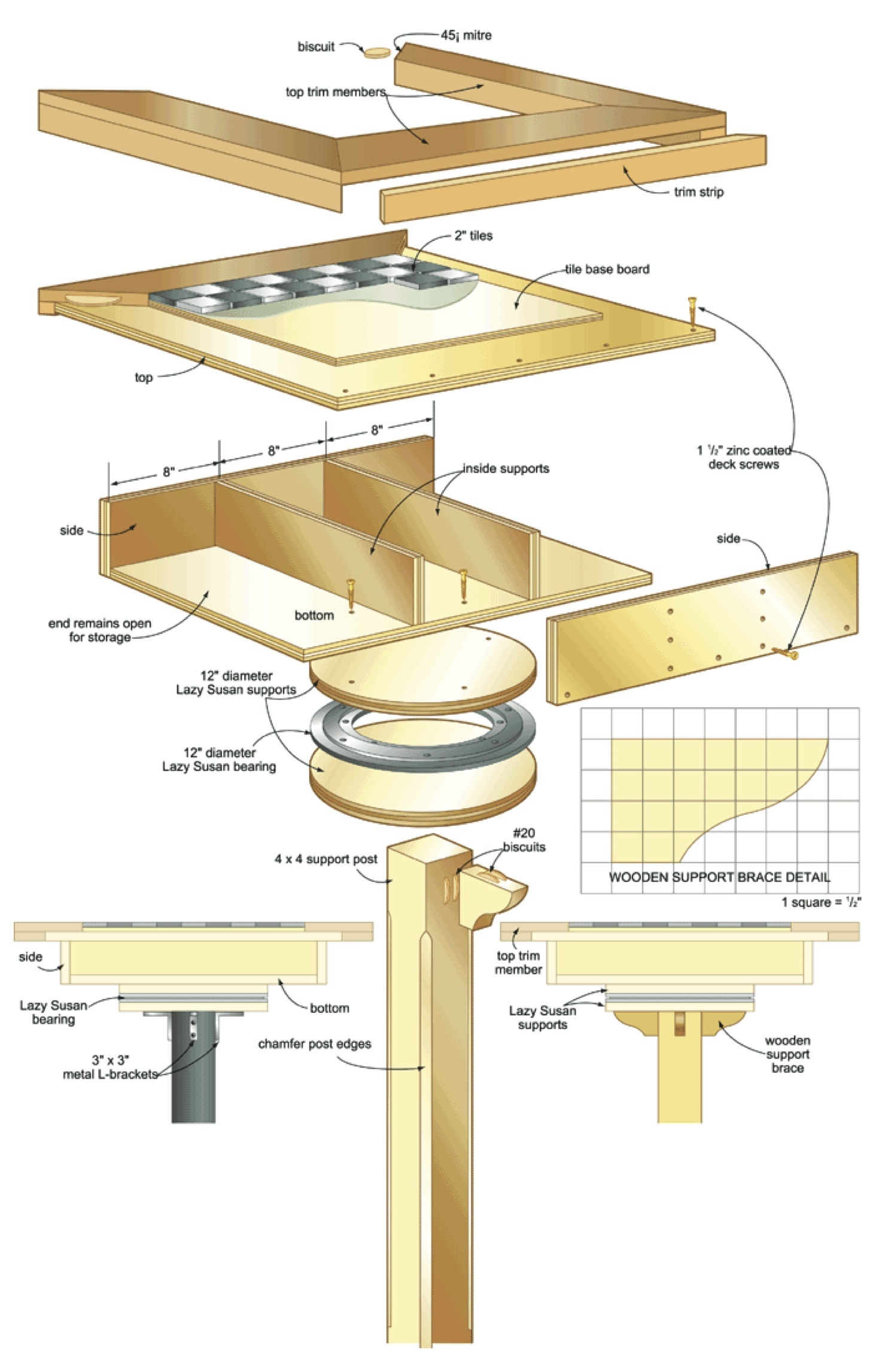 garden games table woodworking plans - WoodShop Plans