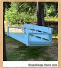 porch swing woodworking plans