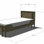 adjustable twin full bed woodworking plans 2